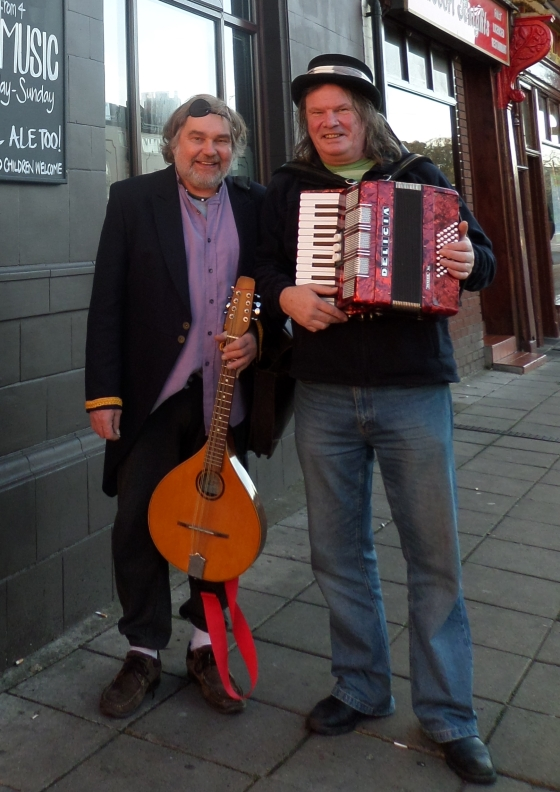 Steve Cartwright and Kenny Wilson